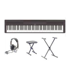 Piano Numerique Portable Yamaha P 45b Pack Yamaha Piano Piano Yamaha