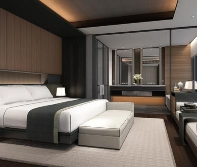 What Is Hot On Pinterest Mid Century Bedroom Ideas Luxurious Bedrooms Hotel Room Design Modern Master Bedroom