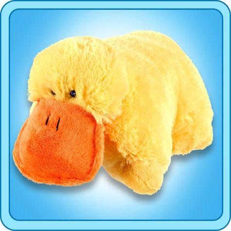 Puffy Duck My Pillow Pets Canada Animal Pillows Pet Ducks