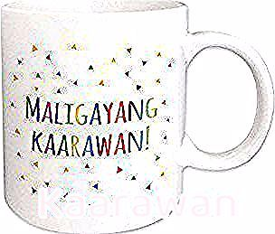 East Urban Home Maligayang Kaarawan Coffee Mug Colour White Mugs Coffee Mugs Herbal Sleep