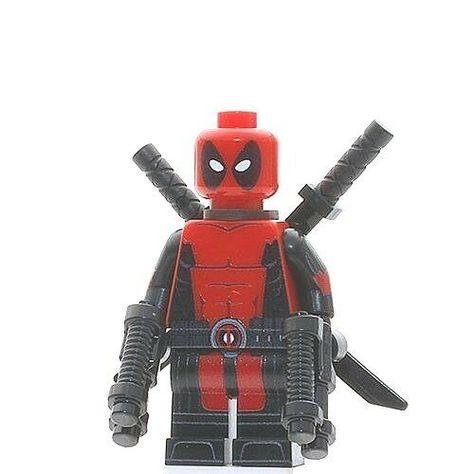 Proxima Midnight lego Custom PAD UV PRINTED Minifigure Super Heroes