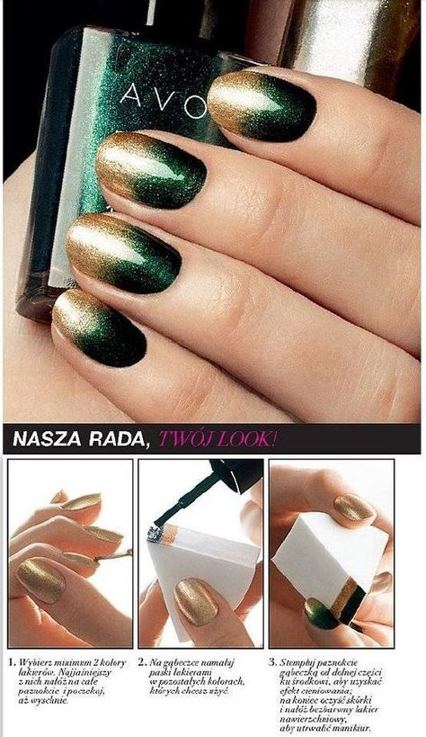 Create this design with AVON nail polish.. shop today at: www.youravon.com/alannabutler