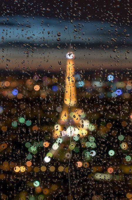 صور مطر تحفه خلفيات شتاء جامده 2018 Rainy Paris Paris Eiffel Tower