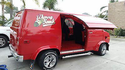 1972 Chevrolet G20 Van Cargo Van Custom Vans Vans Cool Vans