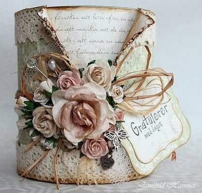 Love this altered paint can