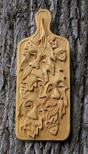 chip carving wood