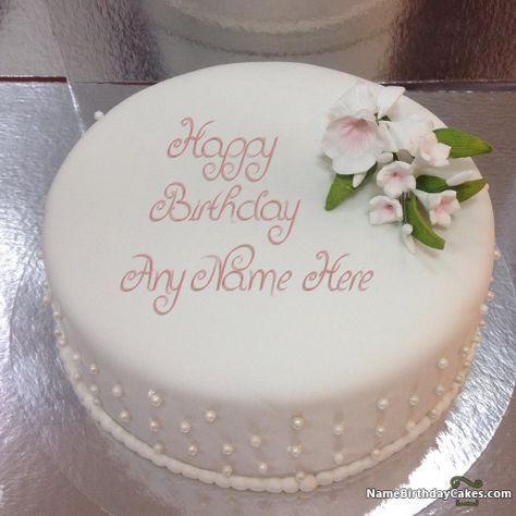 Pin On Birthday Cake Write Name