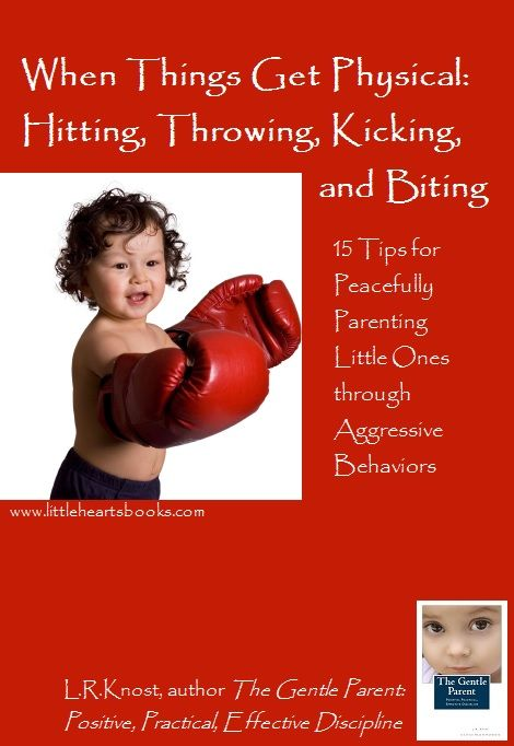 When Things Get Physical: Hitting, Throwing, Kicking, and Biting | L.R.Knost-Little Hearts/Gentle Parenting Resources