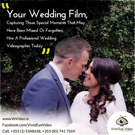 Is Your Big Day Coming Soon Let Us Capture Your Wedding Day In A