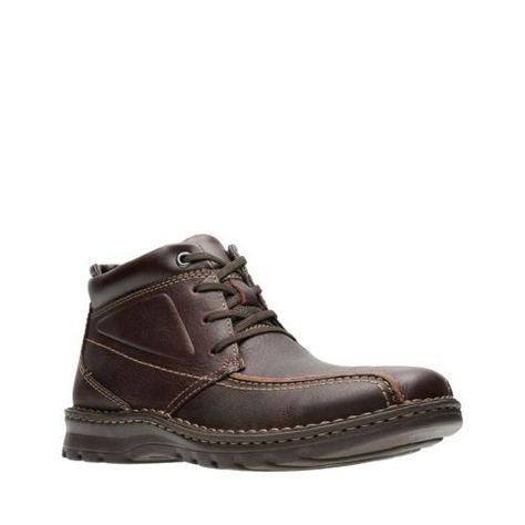 baeb2dae3cadf CLARKS Vanek Rise - Brown Oily Leather.  clarks  shoes