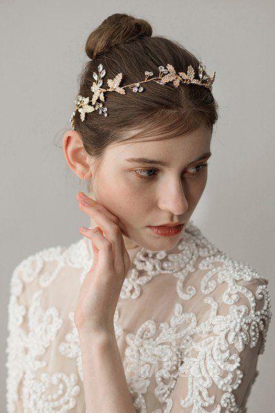 Cocomelody Accessories Ah18011 Wedding Headpiece Vintage Wedding Hair Accessories Headpiece Wedding