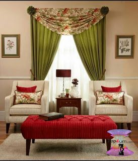 احدث كتالوج صور ستائر صالونات بتصميمات مودرن وكلاسيك 2020 Top4 Home Staging Curtains Home