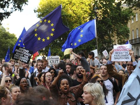 Brexit: Rebel MPs vow to occupy alternative parliament as thousands to protest Boris Johnson's prorogation plan