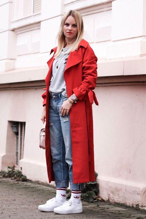Adidas Retro Tennissocken mit Trenchcoat von H&M❤️❤️Mehr Streetstyle Outfits bekommt ihr auf meinem Blog