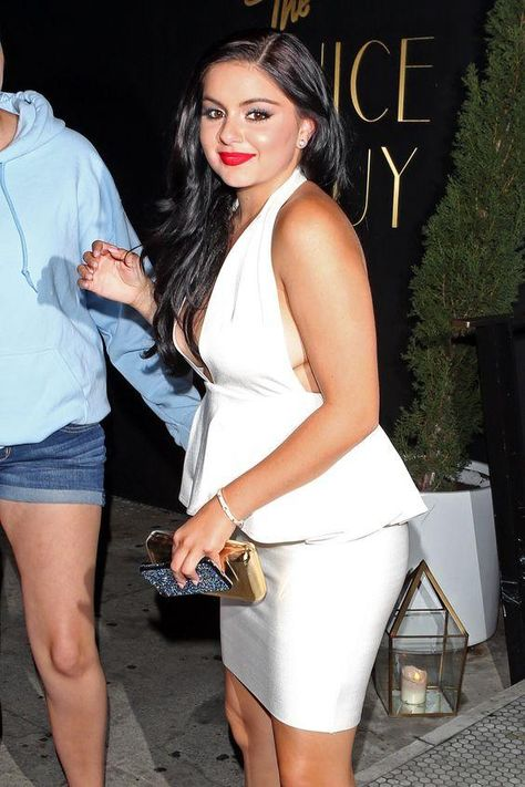Ariel Winter (in AQ/AQ) at the Nice Guy in West Hollywood