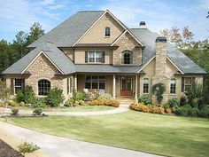 Plan 24348tw Spacious Rooms In 2021 American Houses House Plans New House Plans