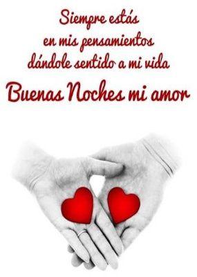 Buenas noches amor – snímek obrazovky