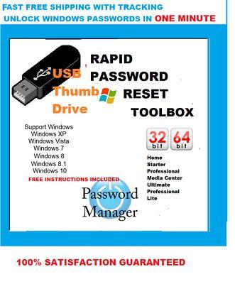 Ebay Link Ad Hp Windows Xp Vista 7 8 10 Windows Password