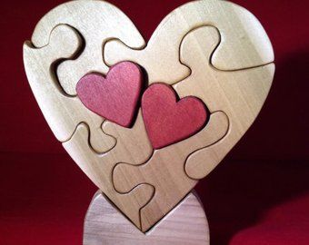 Two Hearts Beating as One Puzzle