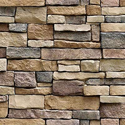 Vimoon Stone Wallpaper Pvc 3d Effect Blocks Peel And Stick Wallpaper For Home Decoration 17 71 Wide X 3 Faux Stone Wallpaper Stone Wallpaper Brick Wallpaper