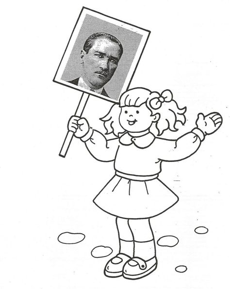 List Of Pinterest Atatürk Resimleri Boyama Images Atatürk