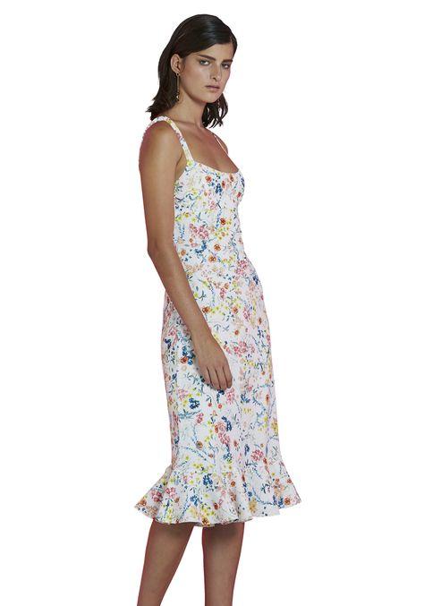 hire zinnia slip midi dress