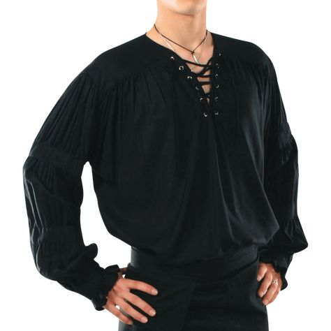 Mens Old-World Gothic Shirt – – Medieval Collectibles – Style is art