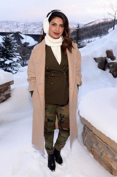 Actress Priyanka Chopra attends the MoviePass House Park City during Sundance 2018.