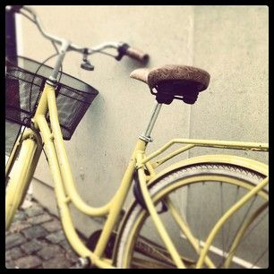 Yellow Vintage Bike Write A Bike Pinterest Vintage Bikes
