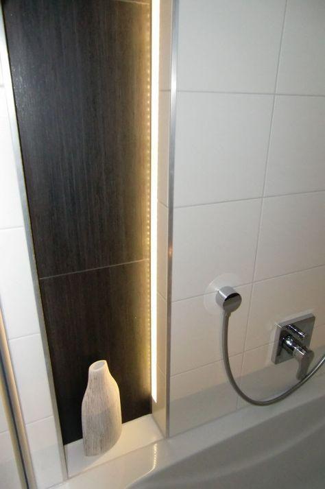 Indirekte Beleuchtung im Bad Nische Badewanne Beleuchtung - led licht für badezimmer