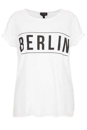 T-shirt dévoré «Berlin»