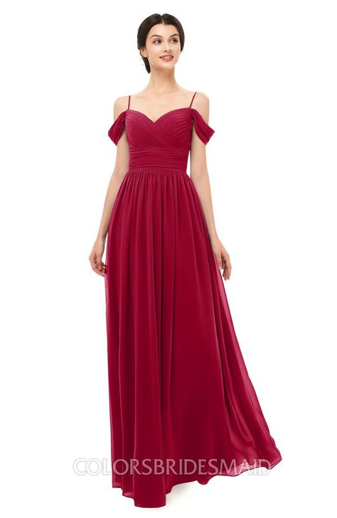 f1f8a6cff5f6 Bridesmaid Dresses Short Sleeve Elegant A-line Ruching Floor Length  Backless on sale at colorsbridesmaid.com. It's A-line, Chiffon, Floor Length,  Ruching, ...