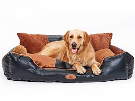Stylish Large Dog Beds That Are Easy To Clean As Well As Vegan Cruelty Free Faux Leather Dog Furniture To Compliment Leather Dog Bed Dog Bed Large Dog Bed
