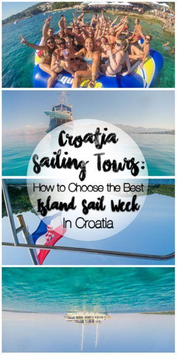 Croatia Sailing Tours: How to Choose the Best Island Sail Week in Croatia