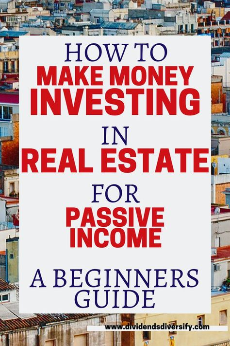REIT Investing For Passive Income | Dividends Diversify
