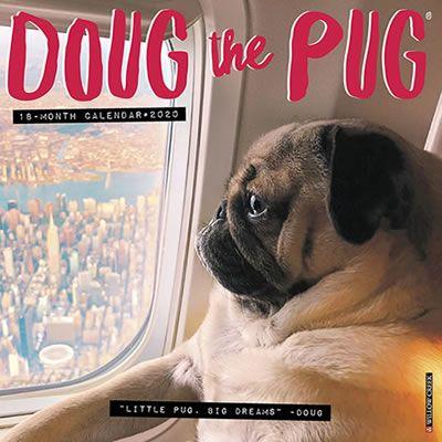 Doug The Pug 2020 Wall Calendar Doug The Pug Pugs Dog Breeds