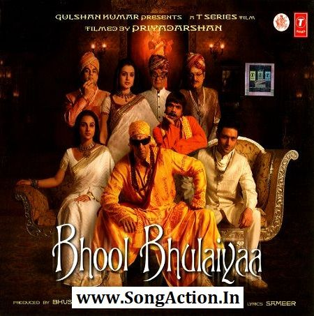 Bhool Bhulaiyaa Mp3 Songs Download Www Songaction In Mp3 Song Download Mp3 Song Songs