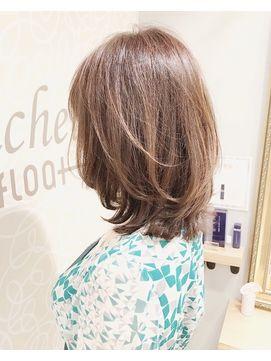 20代30代40代50代ひし形cカーブくびれひし形外ハネ新宿 L038814050 ミッシェルバイアフロート Michelle By Afloat の ヘアカタログ ホットペッパービューティー In 2020 Hair Style