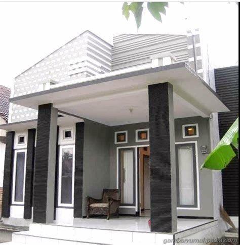 Model Dak Cor Depan Rumah Minimalis Free Wallpapers In 2020 Small House Design House Design Minimalist Home