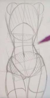 61+ Trendy Drawing Girl Body Sketches Anatomy