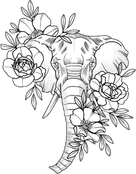 Elephant Tattoos Elefantes Disney Tattoos – tattoos for women small Dope Tattoos, Body Art Tattoos, Sleeve Tattoos, Portrait Tattoos, Elephant Tattoo Design, Elephant Tattoos, Elephant Thigh Tattoo, Mandala Elephant Tattoo, Elephant Design
