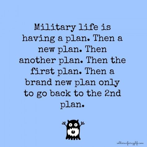 The Cycle Of Military Life