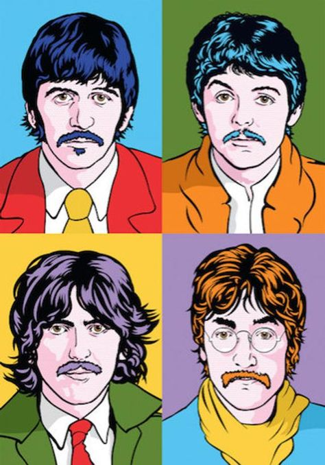 The Beatles Pop art portraits Limited Edition Art Print Beatles Poster, Les Beatles, Beatles Art, Beatles Photos, Pop Art Posters, Band Posters, Maze Runner Maze, Comic Cat, Graffiti Kunst