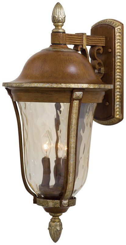 The Great Outdoors Go 8752 3 Light Outdoor Wall Sconce From The Montanero Wall Mount Light Fixture Outdoor Wall Mounted Lighting Outdoor Wall Lantern