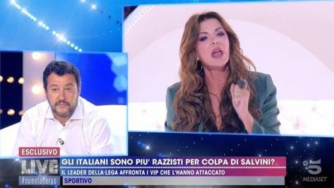 Beh direi che si commenta da solo.. @matteosalviniofficial vs @albaparietti 👊🏻 @livenoneladurso . . . .  #live #noneladurso…