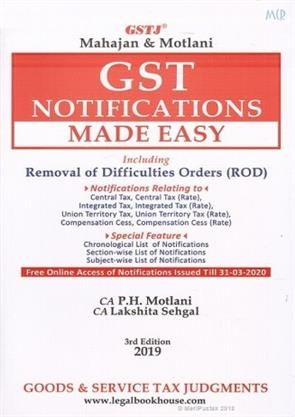 Gst Notifications Made Easy Including Removal Of Difficulties Orders Rod Make It Simple How To Remove Hardbound