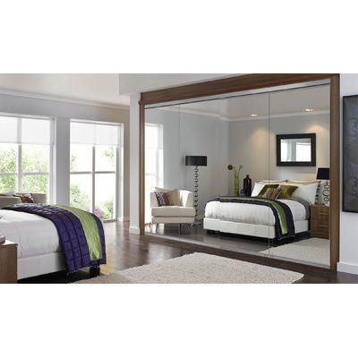 Custom Door And Mirror Mirrored Sliding Closet Doors Modern