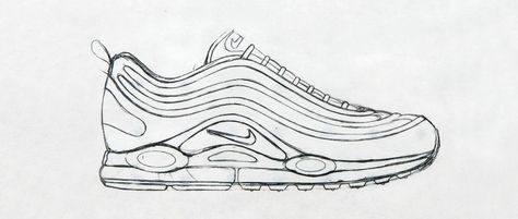 lowest price 4388b 9db60 Sneaker Sketch Of The Week    Christian Tresser s Nike Air Max 97