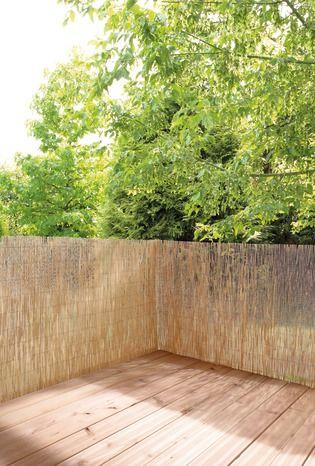 Canisse Naturelle En Roseau H 1 80 X L 3 M Brico Depot Canisse Bambou Canisse Decoration Exterieur