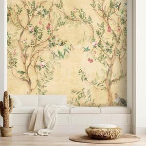 Chinoiserie Wallpaper Mural Peel And Stick Blossom Tree Wall Etsy In 2021 Chinoiserie Wallpaper Tree Wall Murals Mural Wallpaper